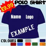 PERSONALISED BUSINESS WORK LOGO EMBROIDERED POLO SHIRT